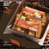 Bio fahéjas-diós keksz almasűrítménnyel édesítve
